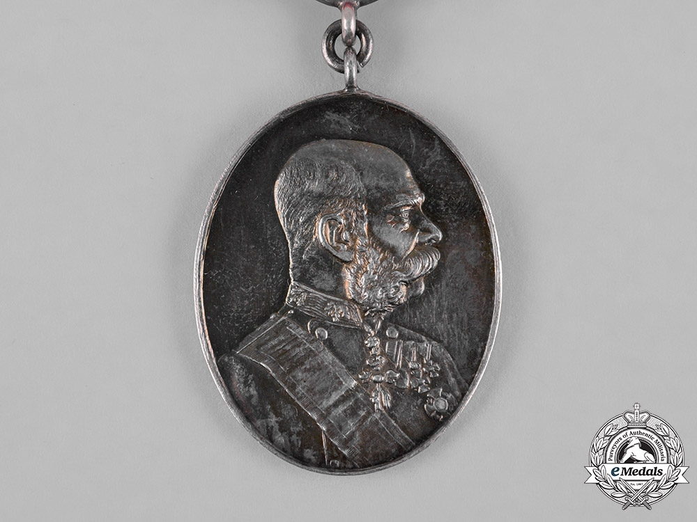 Austria, Imperial. An 1898 Silver Civil Court Jubilee Medal