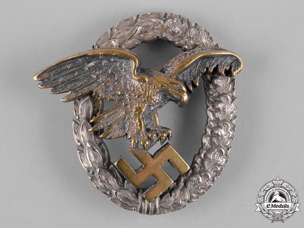 Germany, Luftwaffe. An Observer Badge, by C.E. Juncker