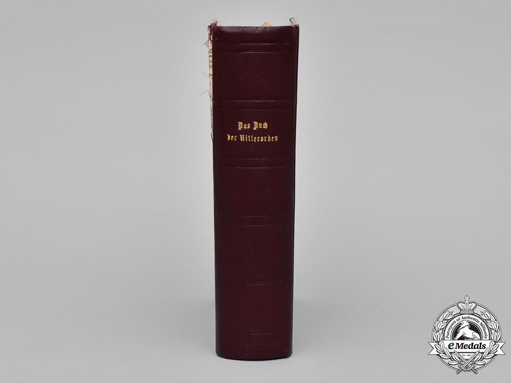 Germany, Imperial. Das Buch der Ritterorden und Ehrenzeichen, c.1856