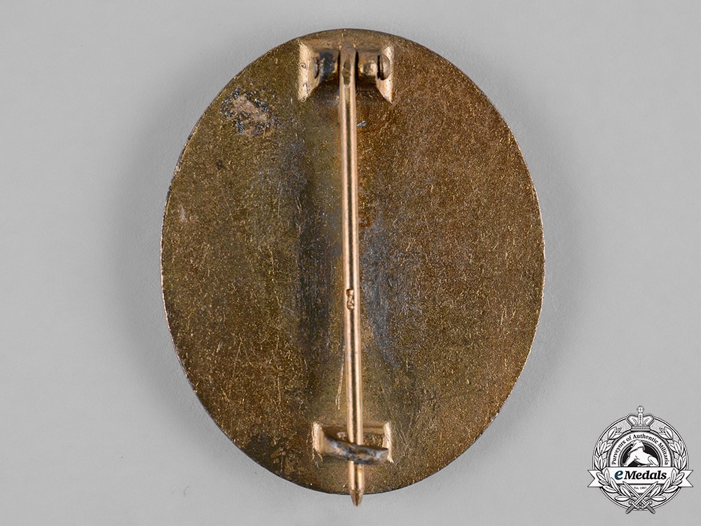 Germany, Wehrmacht. A Wound Badge, Gold Grade, by Steinhauer & Lück