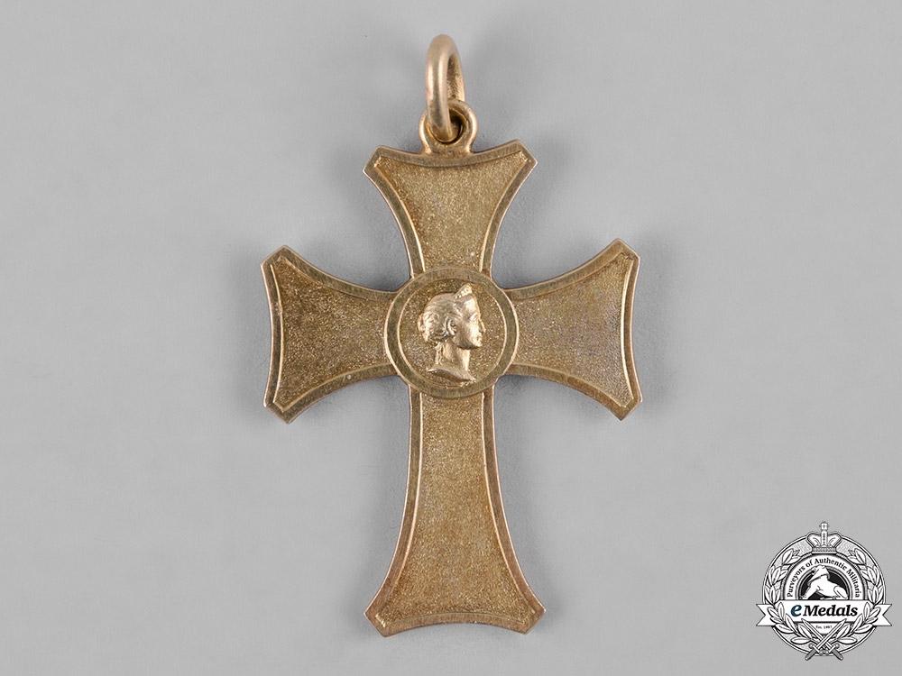 Württemberg, Kingdom. A Silver Merit Cross for Female Servants by Foehr