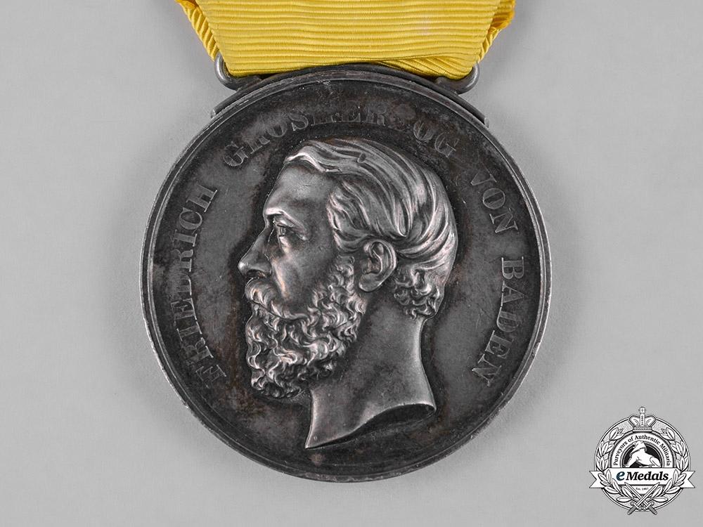 Baden, Duchy. A Silver Merit Medal