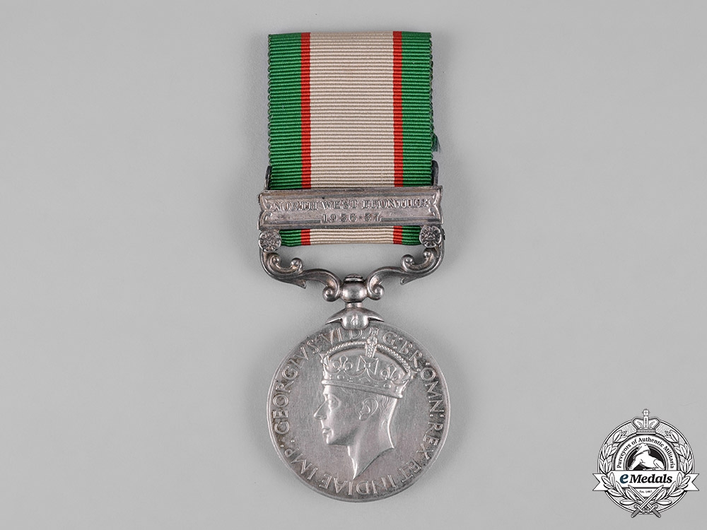 United Kingdom. An India General Service Medal 1936-1939, RIASC (Mountain Troops)