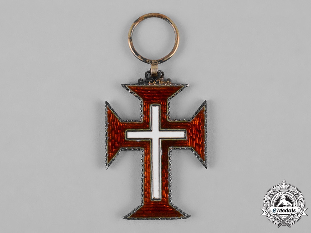 Portugal, Republic. A Military Order of Christ, V Class Knight,c.1900