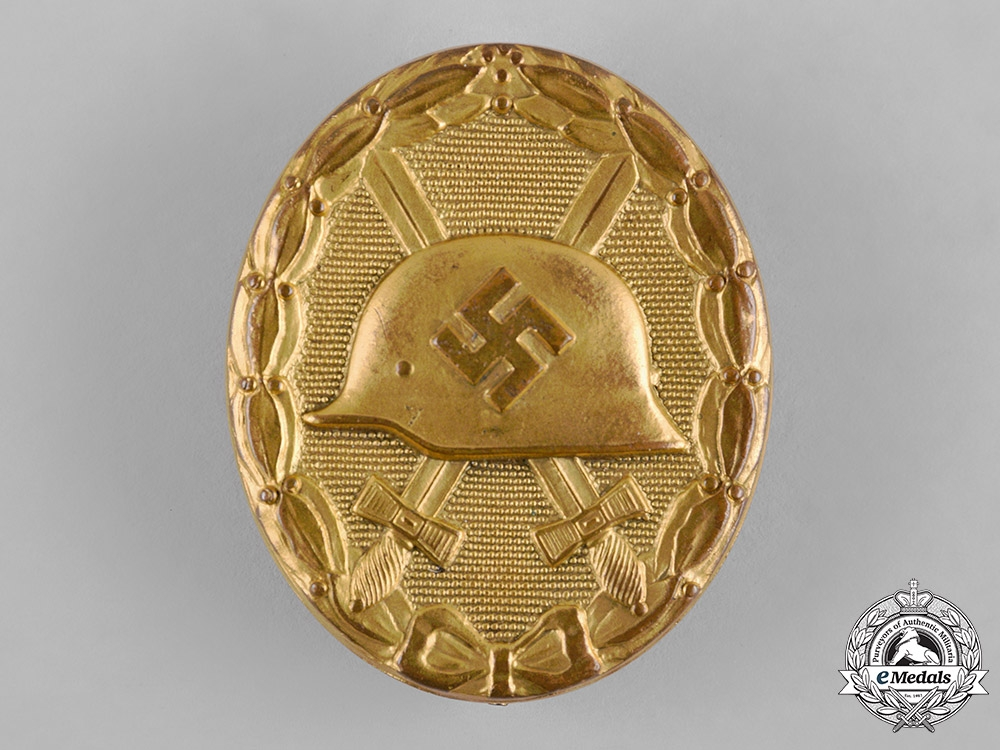 Germany, Wehrmacht. A Wound Badge, Gold Grade