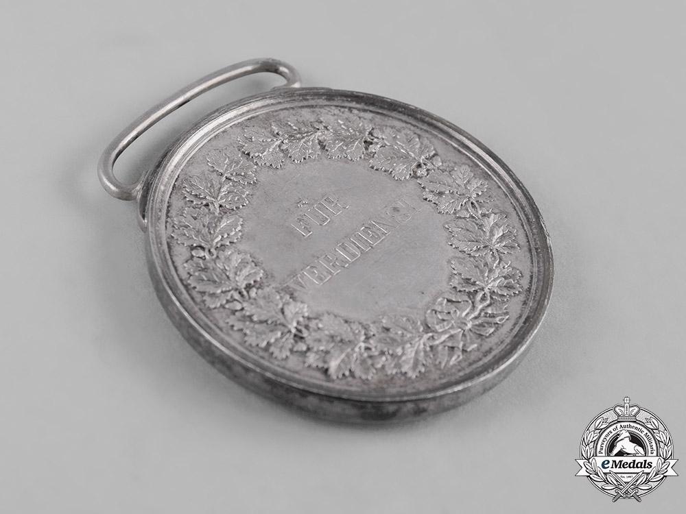 Baden, Grand Duchy. A Civil Merit Medal, Silver