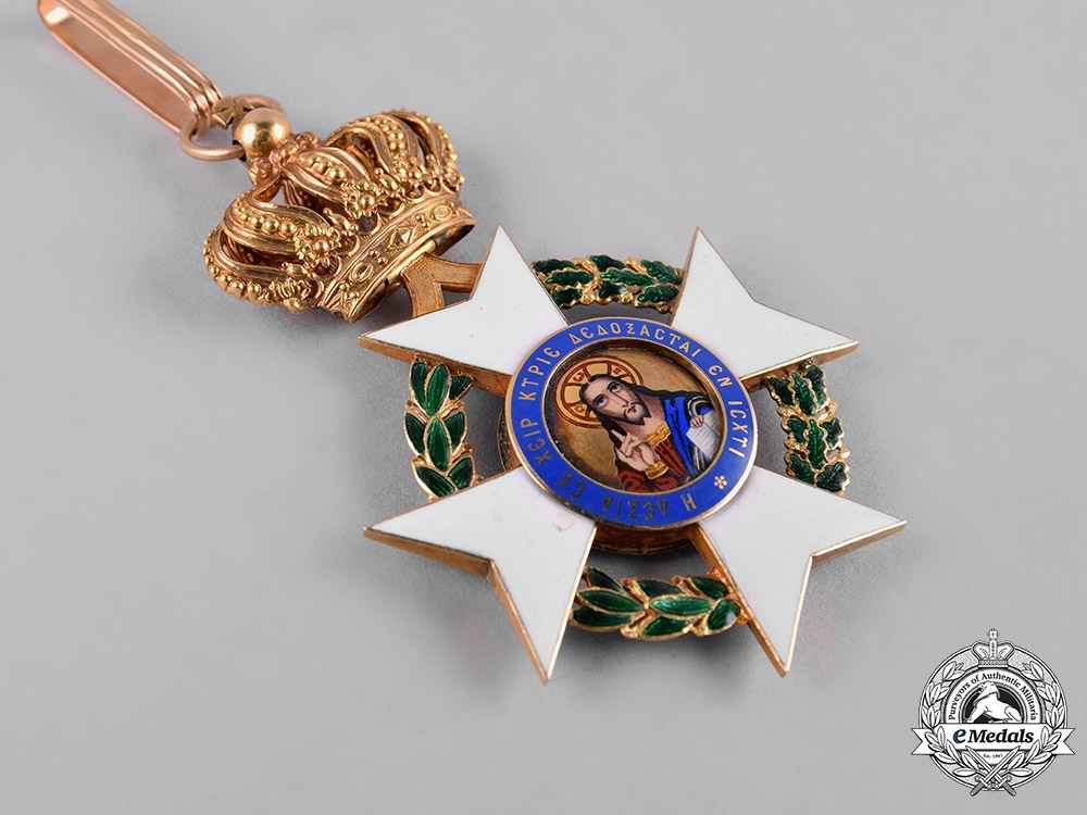 Greece, Kingdom. An Order of the Redeemer in Gold, Commander, c.1900