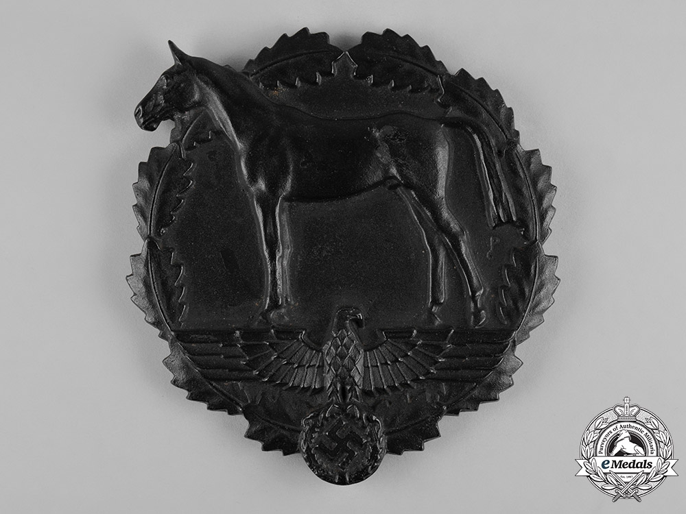 Germany, SA. A SA Award for Services to the National Socialist Equestrian Youth