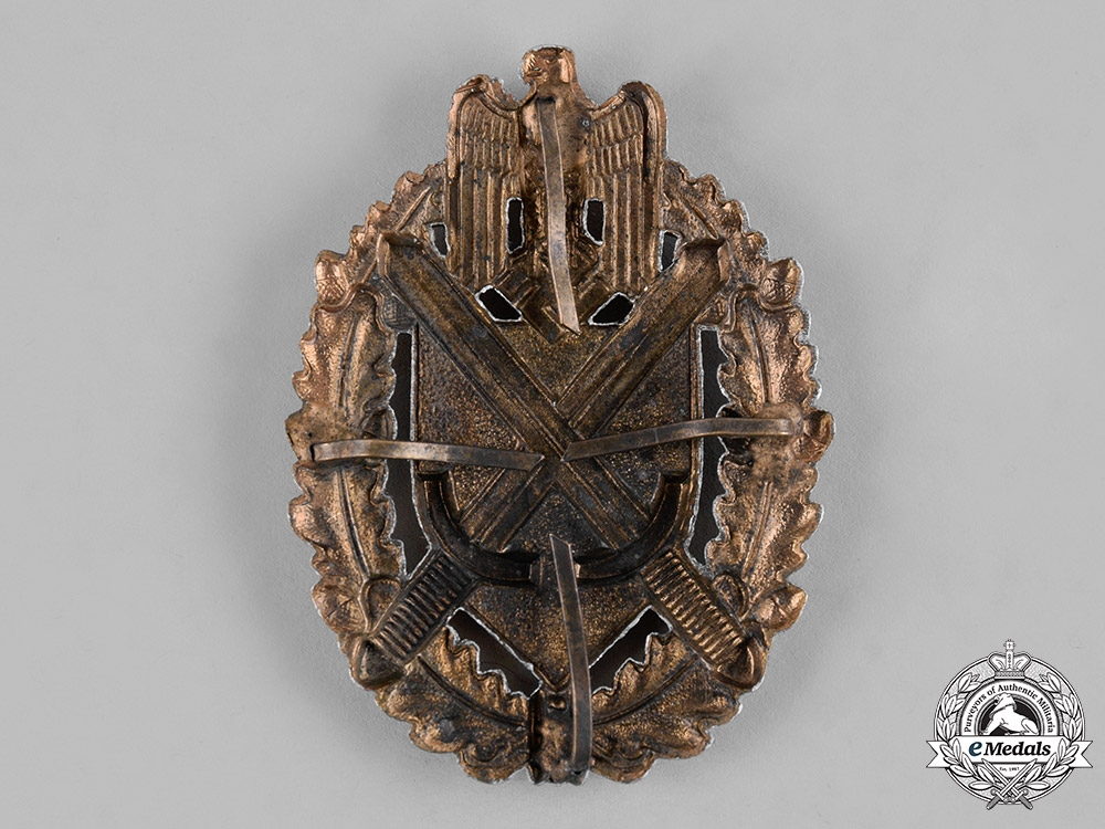 Germany, Wehrmacht. A Shooting Lanyard Shield, Grade 9
