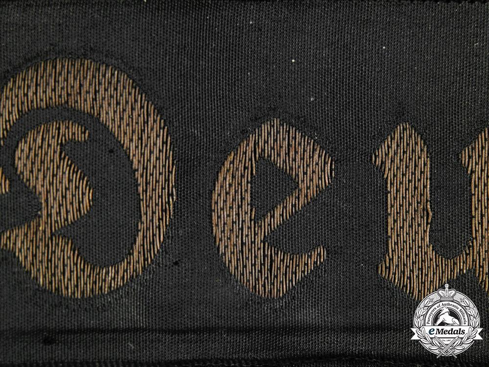 Germany, Kriegsmarine. A Panzerschiff Deutschland Cap Ribbon