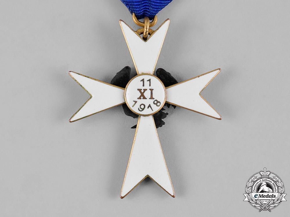 Estonia, Republic. A White Cross of the Home Guard, III Class