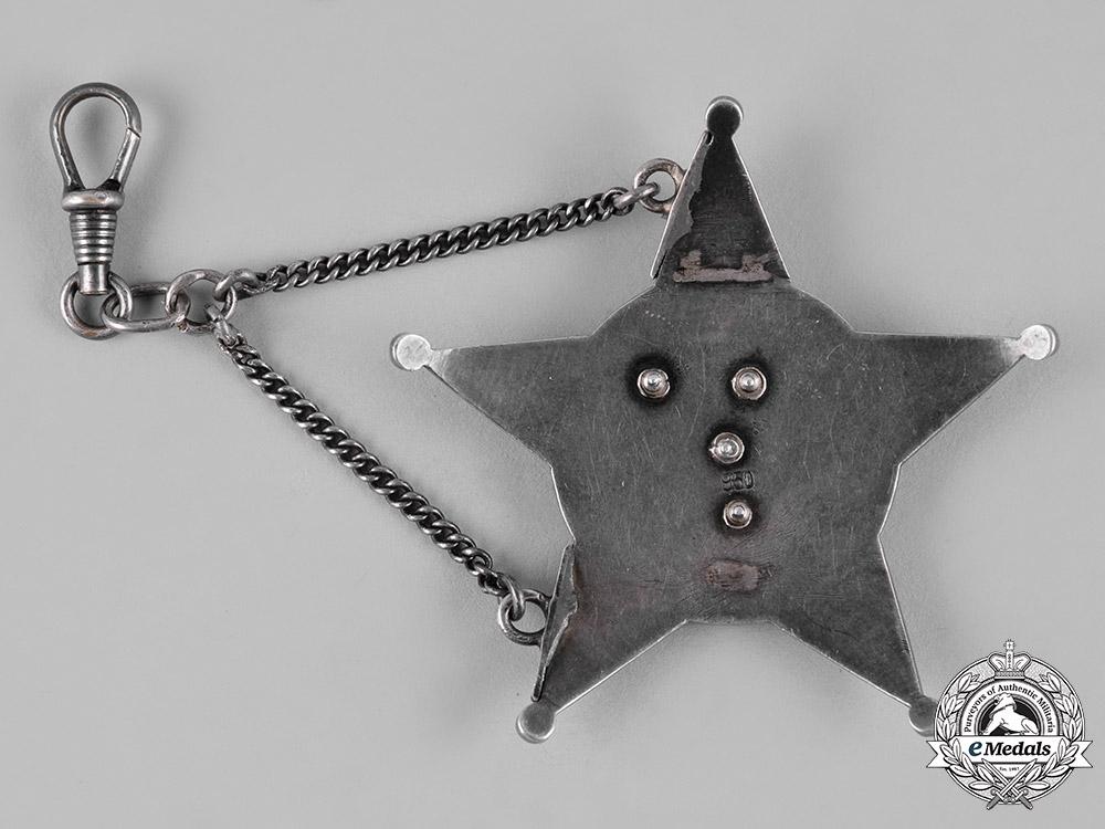 Turkey, Ottoman Empire. A War Medal, Galipoli Star in Silver