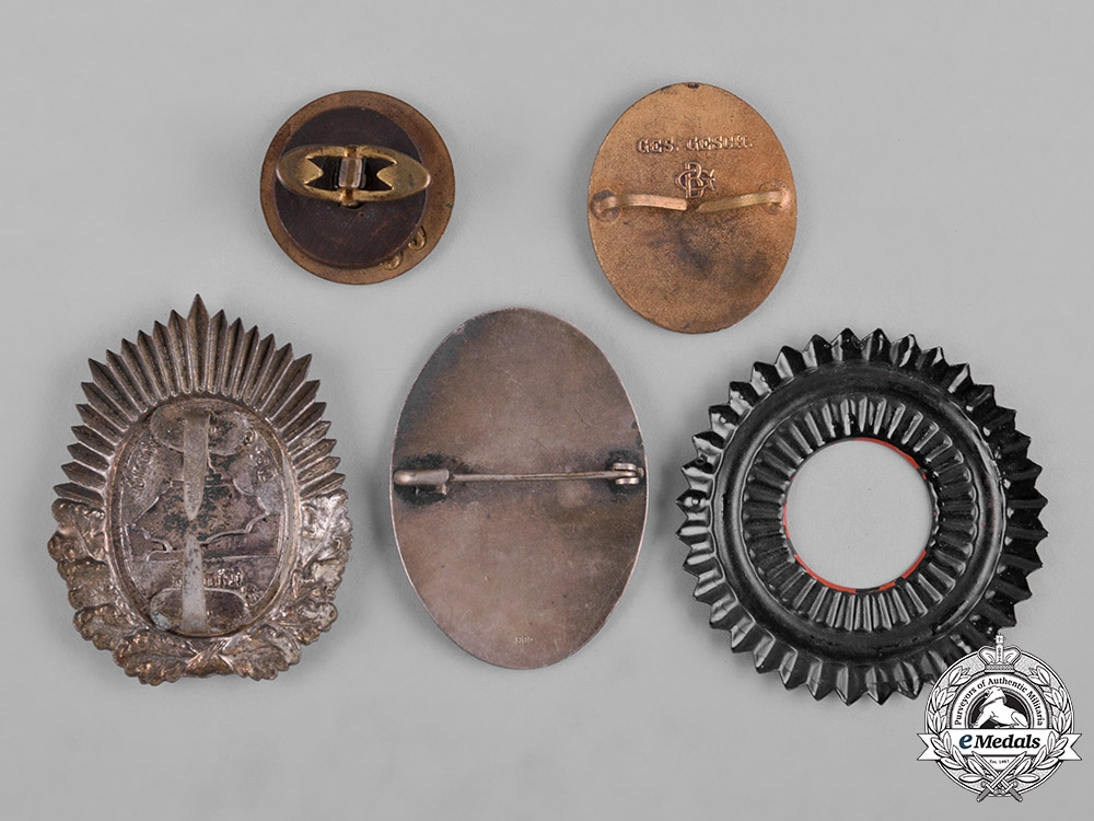 Germany, Weimar. A Lot of Weimar Republic Badges