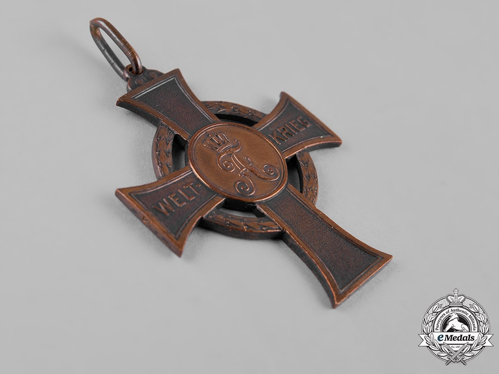 Saxony, Kingdom. A War Merit Cross