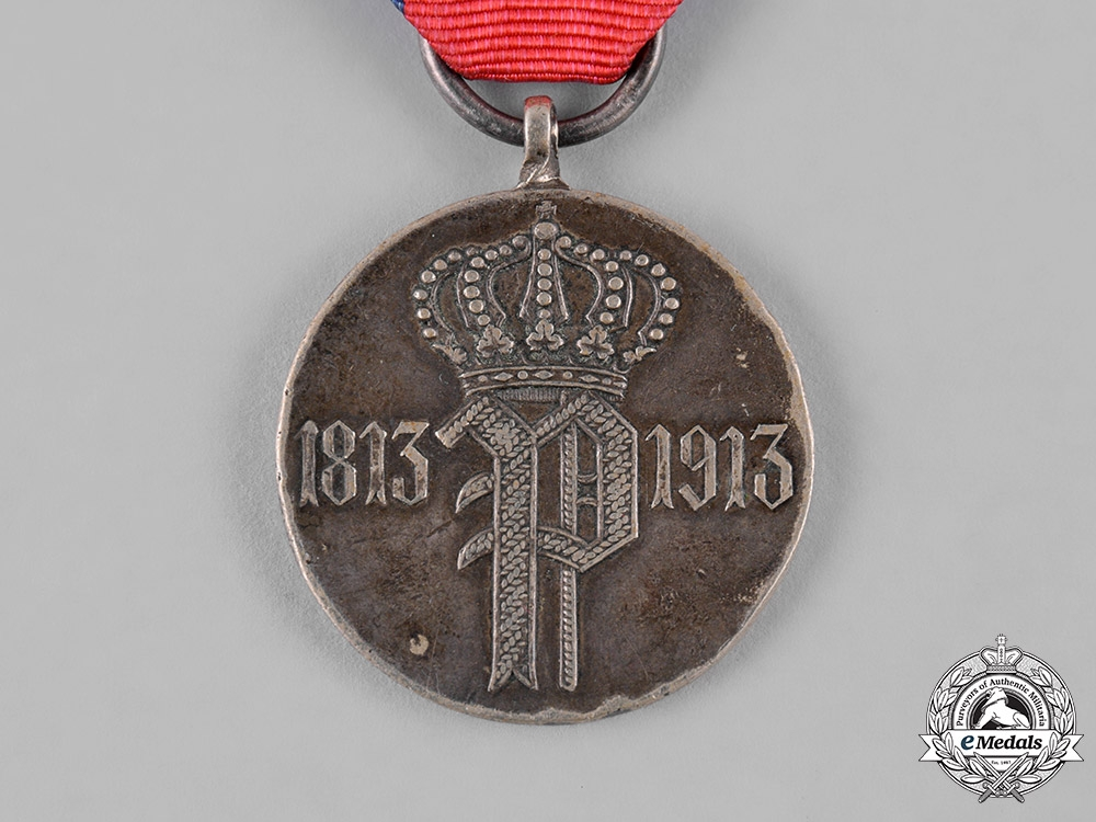 Oldenburg, Grand Duchy. A Medal to Commemorate the Centenary of the Oldenburg Infantry Regiment No. 91