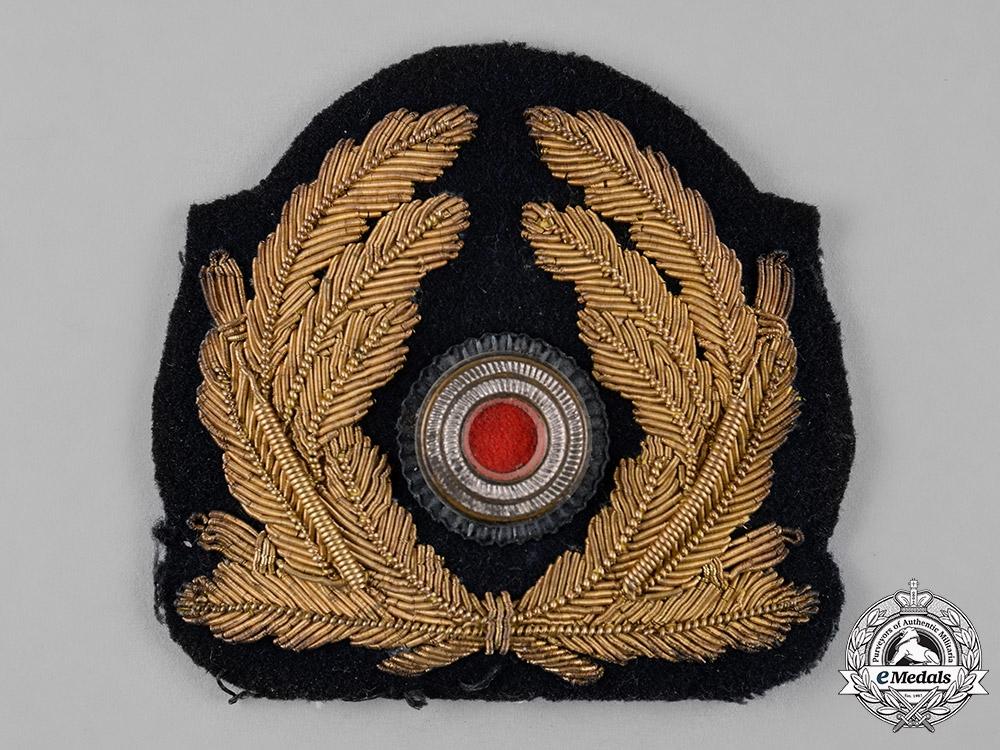 Germany, Kriegsmarine. An Officer's Cap Cockade