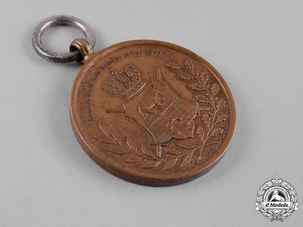 Anhalt, Duchy. An Alexander Carl Medal