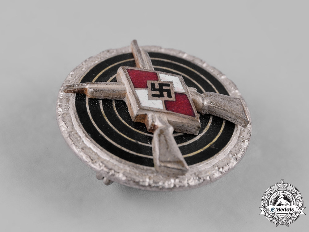 Germany, HJ. A Sharpshooter Badge by Steinhauer & Lück