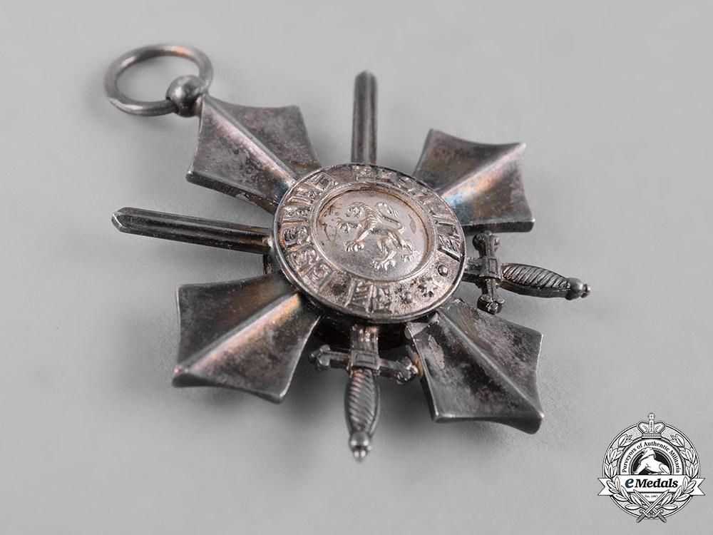 Bulgaria, Kingdom. An Order of Military Merit, V Class Cavalier Cross, c.1940