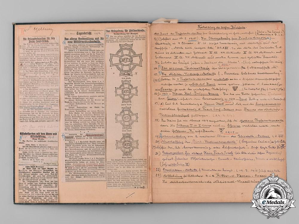 Austria, Imperial. Die Orden und Ehrenzeichen der K. und K. Oesterreichisch-Ungarischen Monarchie, by Friedrich Heyer von Rosenfeld, 1899