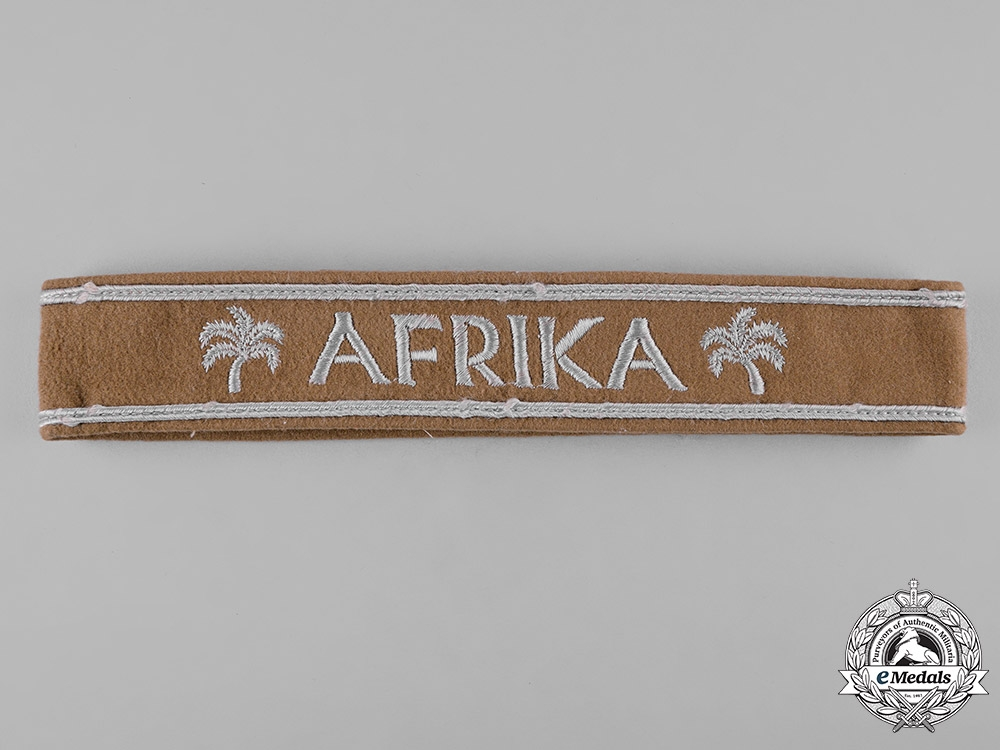 Germany, Heer. An Afrika Korps Cuff Title