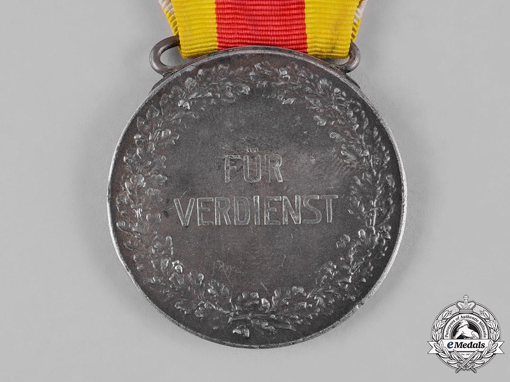 Baden, Duchy. A Silver Civil Merit Medal