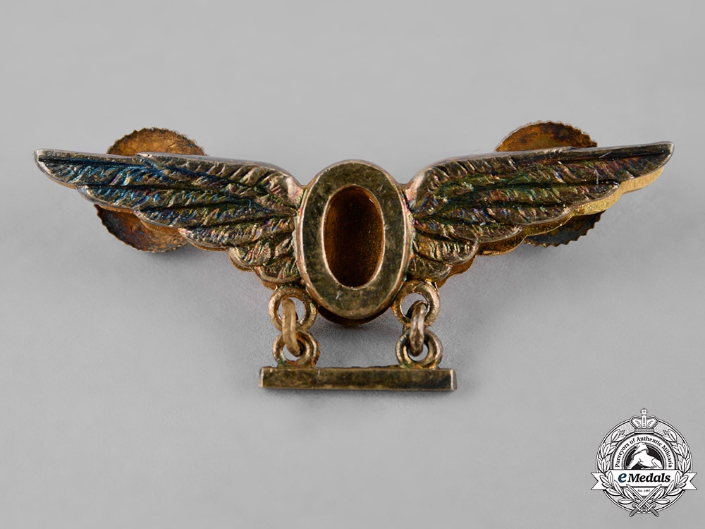 Canada. A Royal Canadian Air Force (RCAF) Ops Wings with Second Award Bar