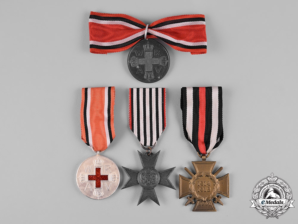 Germany, Imperial. A Lot of German Imperial Awards