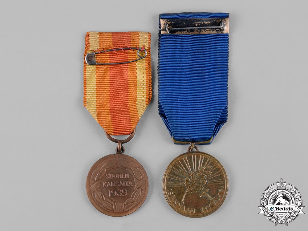 Finland, Republic. Two Medals Associated with Finnish Orders