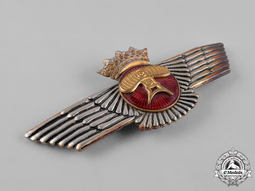Spain, Franco Period. An Air Force Airborne Protection (Radar) Wings, c.1938