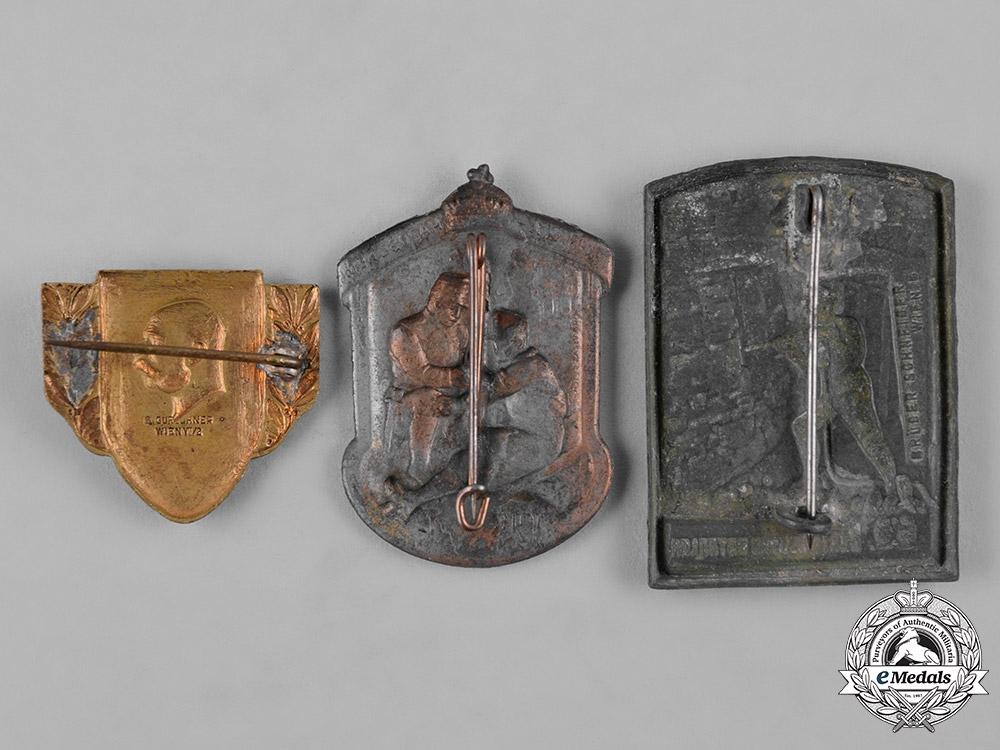 Austria, Imperial. A Lot of First War Austro-Hungarian Patriotic Badges