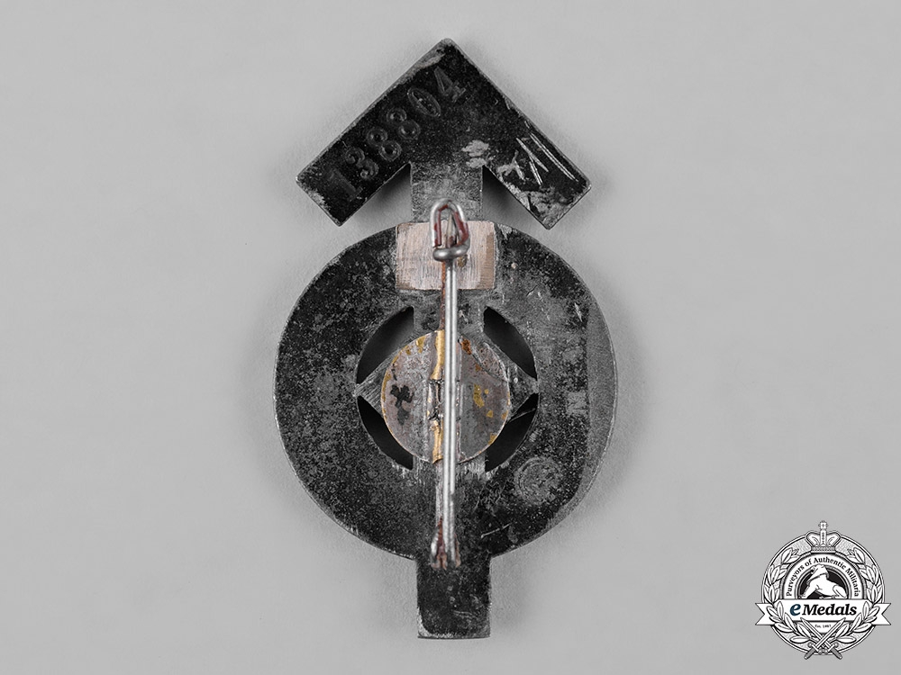 Germany, HJ. A Proficiency Badge, Silver Grade, by Steinhauer & Luck