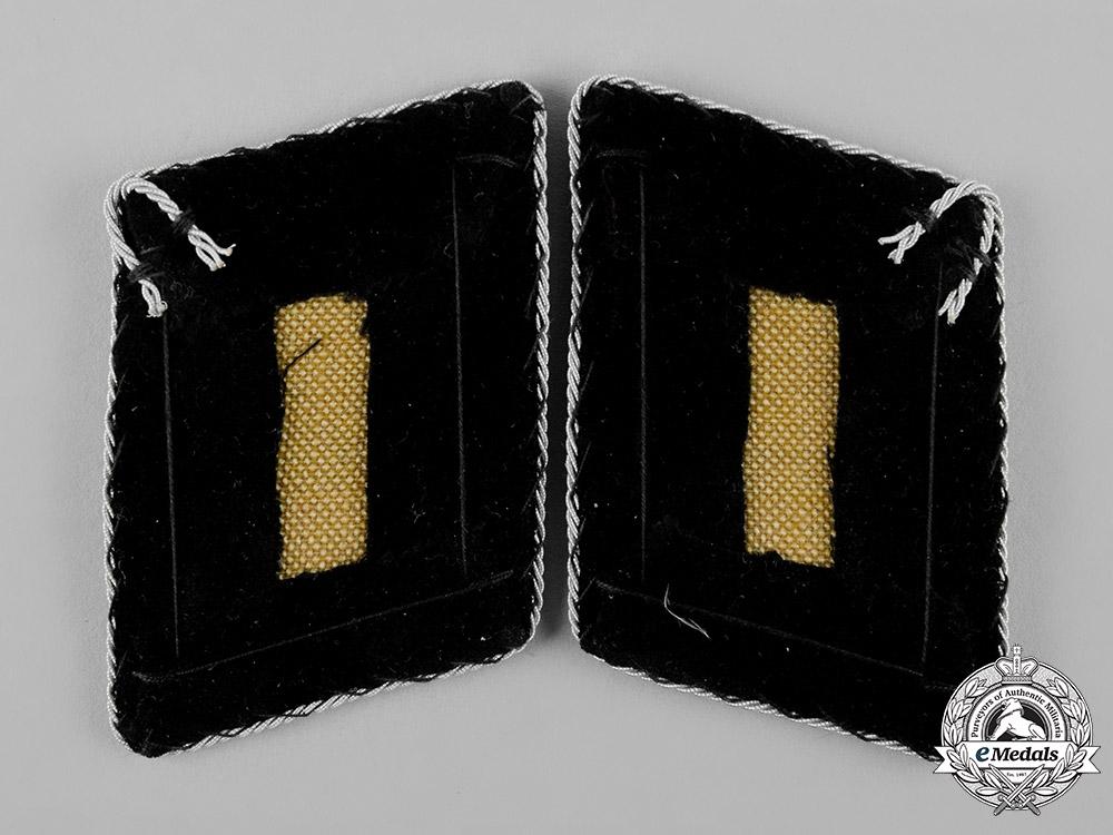Germany, SS. A Set of Waffen-SS Brigadeführer Collar Tabs, Type II