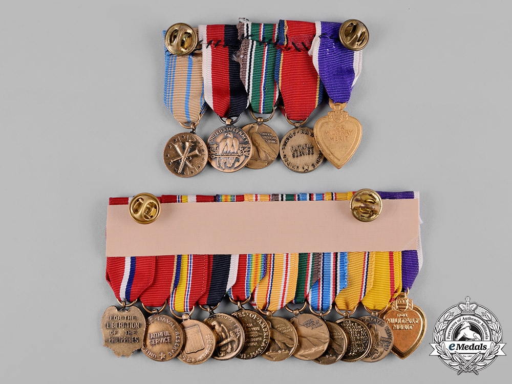 United States. A Lot of Second War Period United States Navy Awards & Insignia