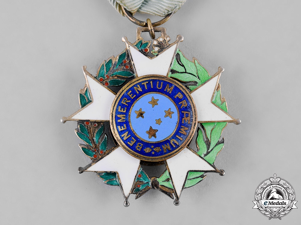 Brazil, Federative Republic. A National Order of the Southern Cross, V Class Knight, c.1945