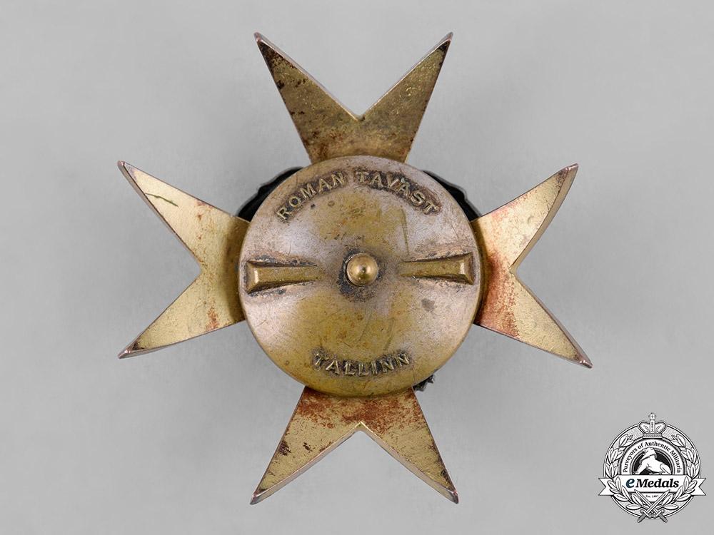 Estonia, Republic. A Kaitseliit Defence Force Badge by Roman Tavast of Tallinn