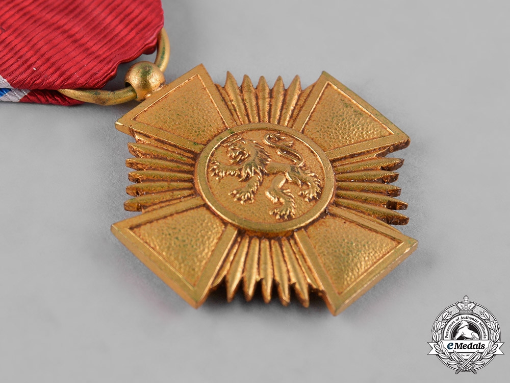 Luxembourg, Grand Duchy. An Order of Merit, Gold Grade Medal