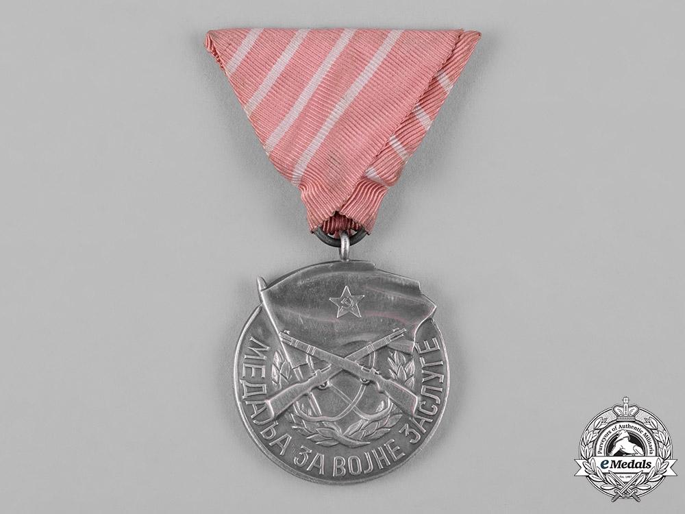 Yugoslavia, Socialist Federal Republic. A Medal for Military Merit