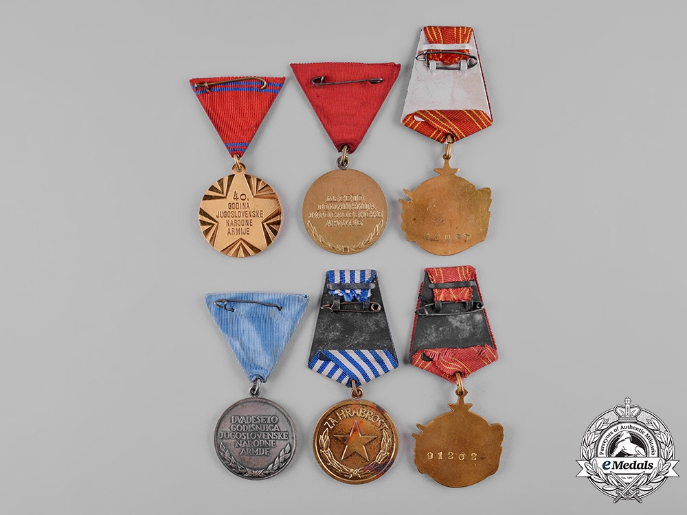 Yugoslavia, Socialist Federal Republic. A Lot of Sixteen Medals