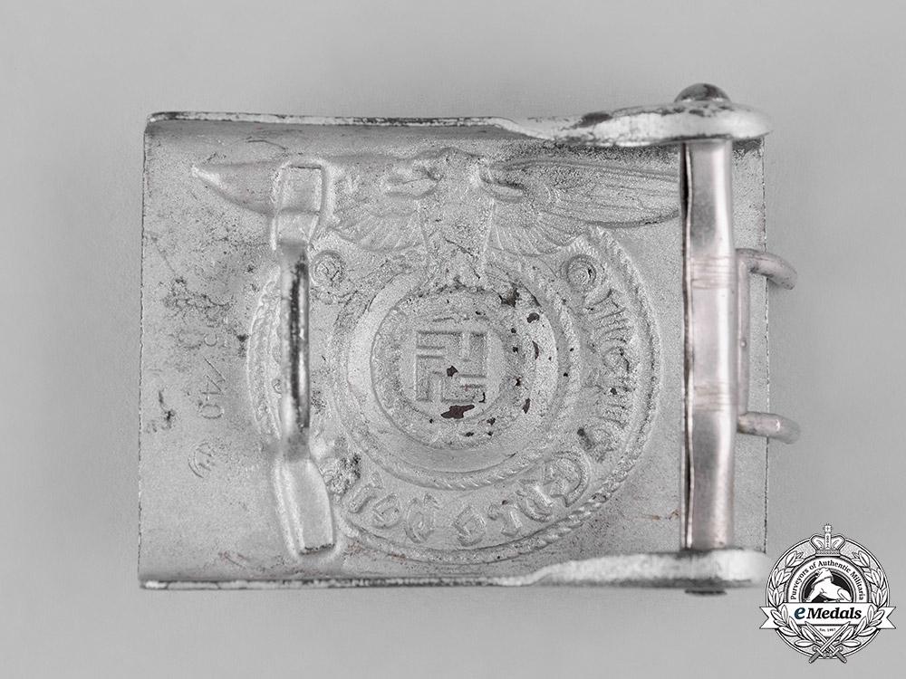 Germany, SS. A SS EM/NCO's Belt Buckle