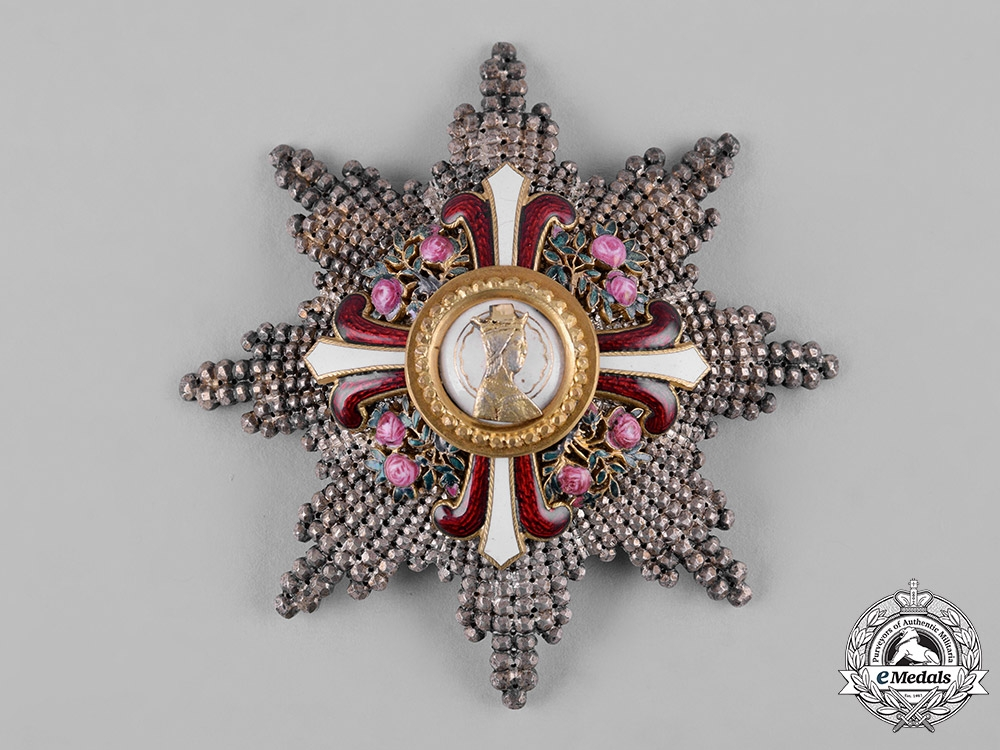 Austria, Imperial. An Order of Elisabeth, Grand Cross Star, by Anton Reitterer (Wearers Copy)