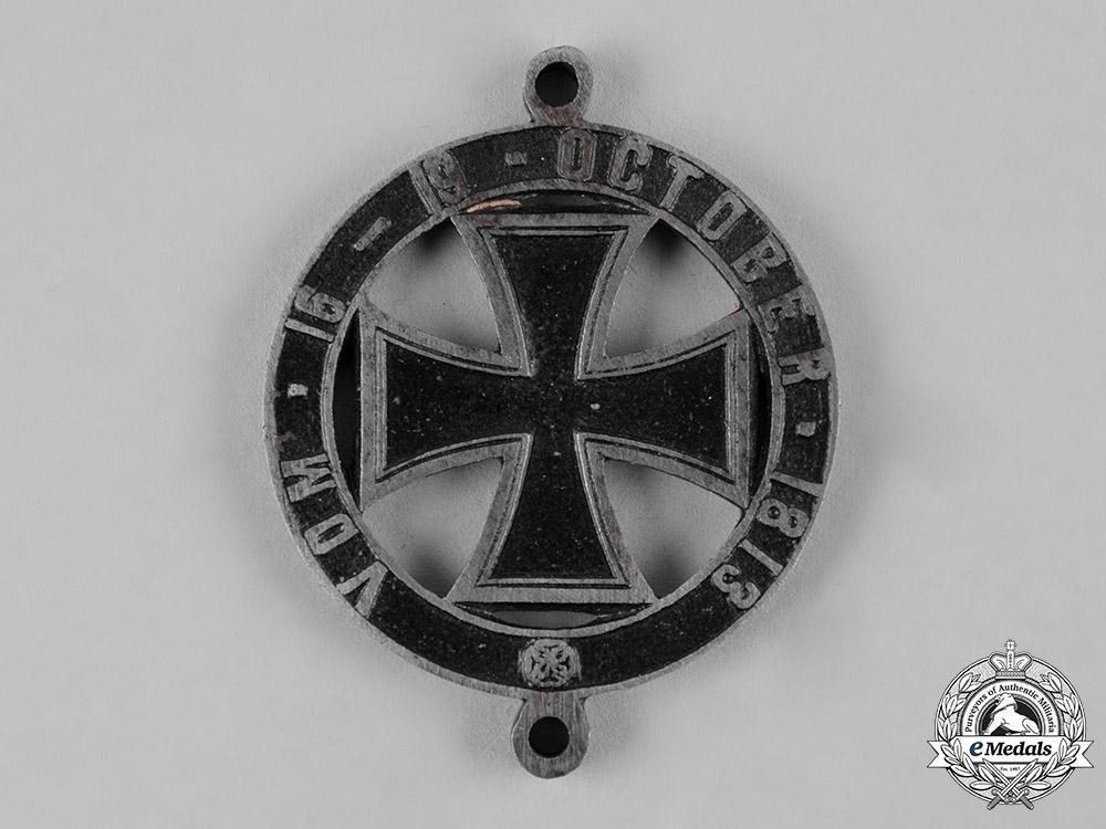 Prussia, Kingdom. A Battle of Leipzig 50th Anniversary Medal
