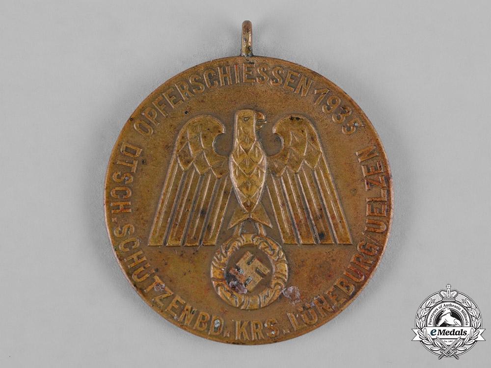 Germany, DSB. A 1935 Shooting Association (DSB) Lower Saxony Medal