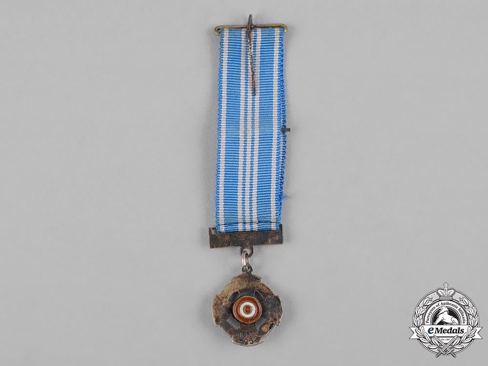 Peru, Republic. An Order of Aeronautical Merit, Miniature, by Zuldet