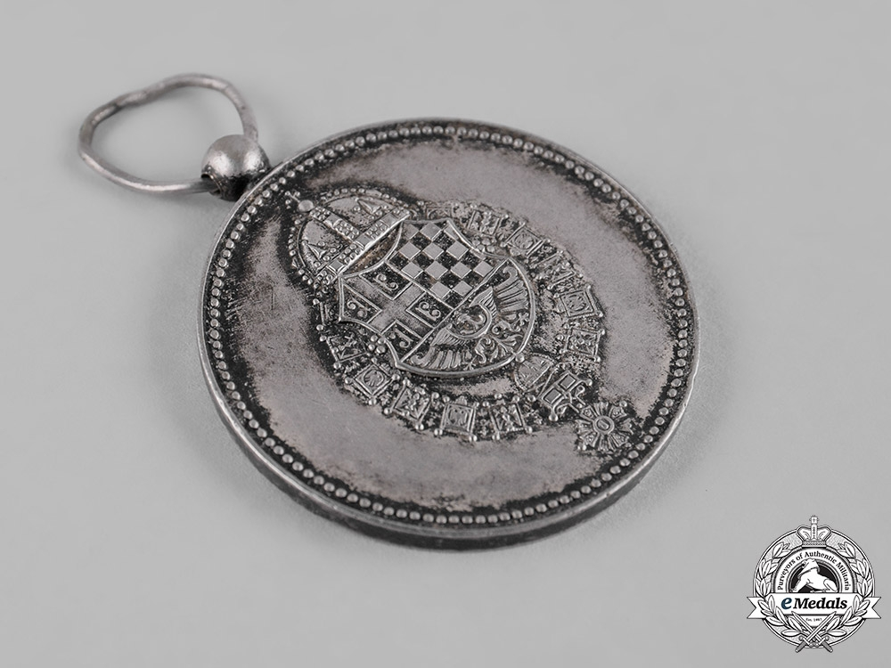 Yugoslavia, Kingdom. A Medal for Service to the Royal Household, IV Class, Silver Grade, c.1941