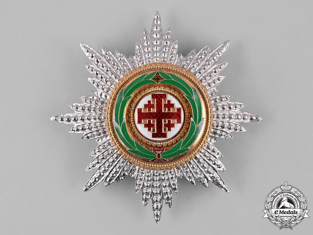 Vatican. An Order of the Holy Sepulchre of Jerusalem, Grand Cross Star, c.1990