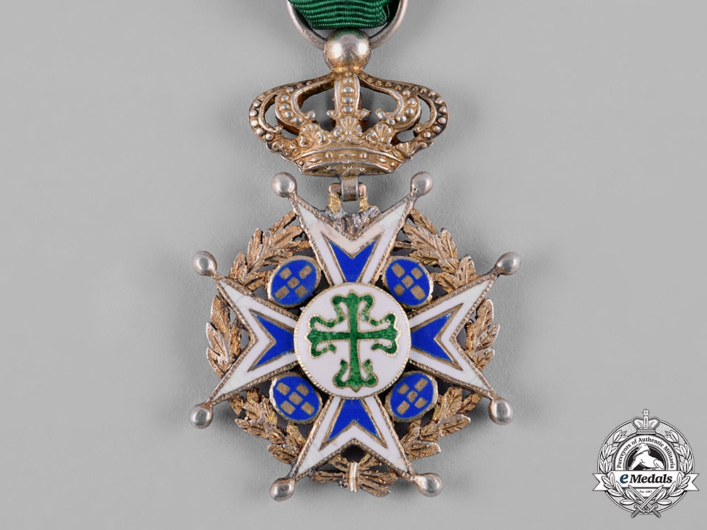 Portugal, Kingdom. A Military Order of St. Benedict of Avis, Special Model Knight
