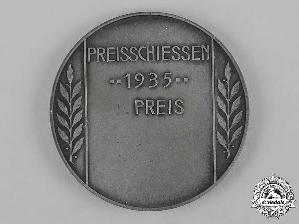 Germany, Heer. A 1935 Heer Anti-Tank Gunner Shooting Award
