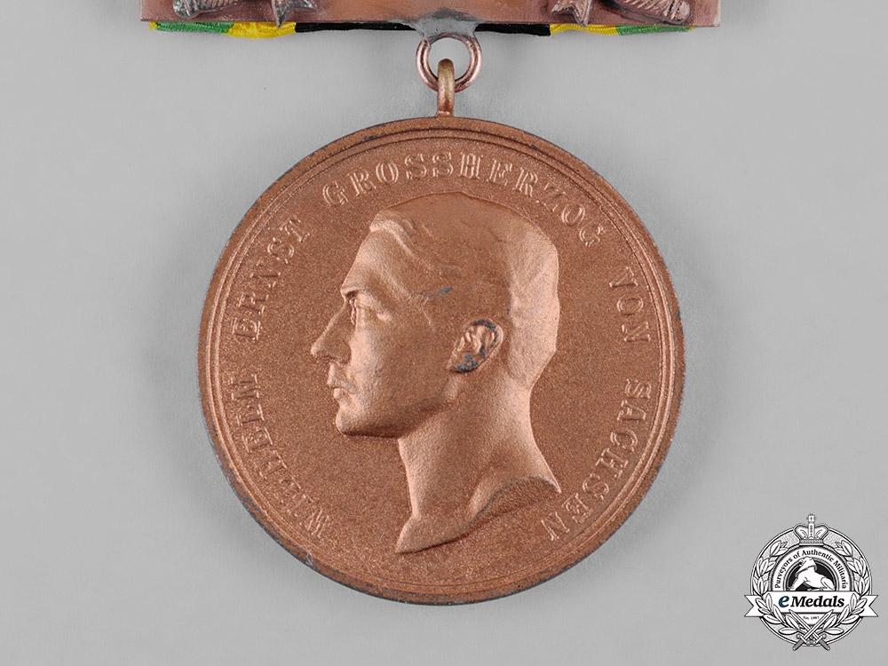 Saxony, Kingdom. A General Medal of Merit, Bronze Grade, with Sword Clasp