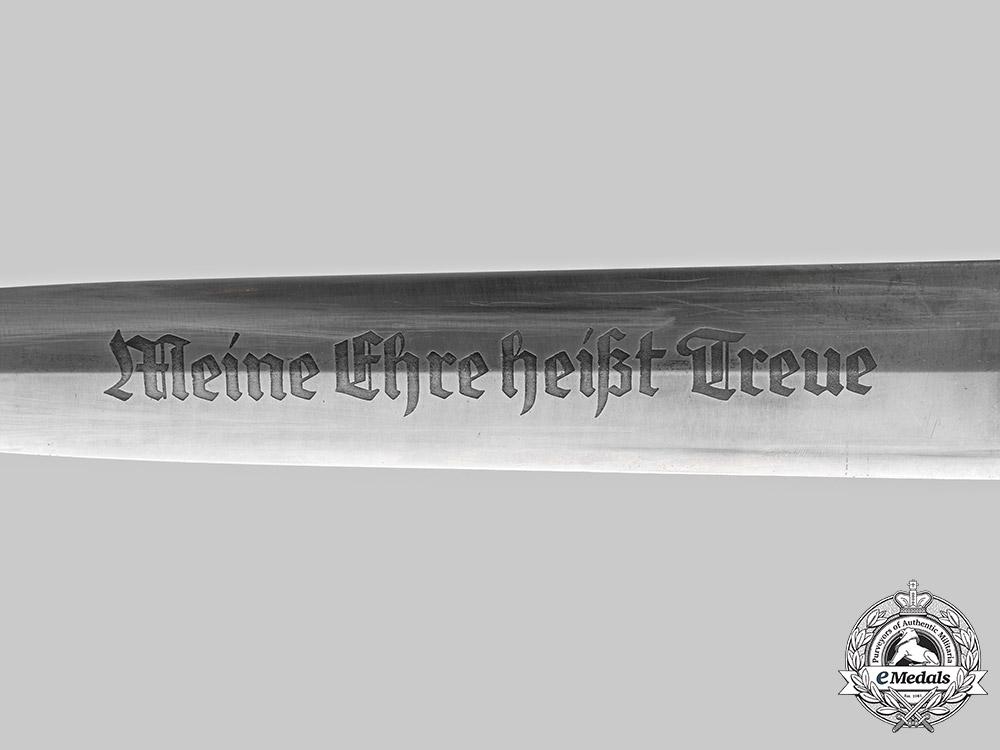 Germany, SS. A Rare Model 1934 Himmler Honour Dagger, by Carl Eickhorn